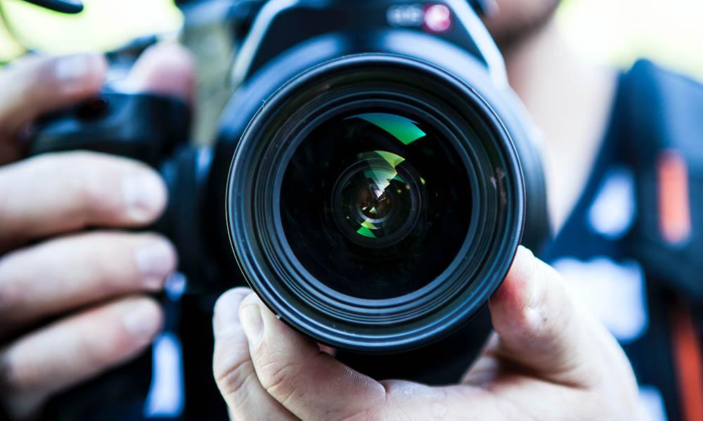 Camera shoot for testimonial videos